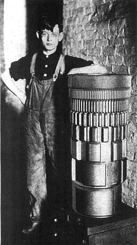 A single tone wheel generator
